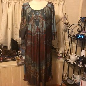 Lovely. 3/4 sleeved dress. Size 4X. Any occasion